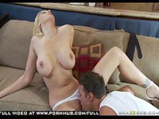 Big Tit Blonde Milf Julia Ann fucks cop for