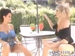 Lisa Ann having oily fun Big Tits Clips