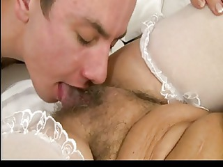 Hairy Granny Licking His Ass by TROC