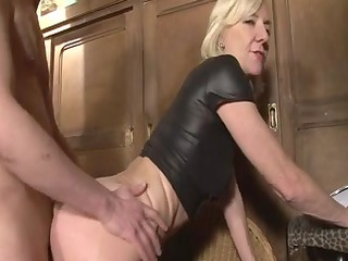 blond older charlie fucked right into an asshole