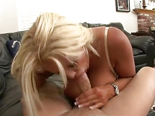 Hot Busty Blonde Mature Cougar Banged Hard