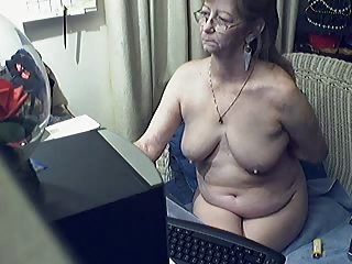 Lovely granny with glasses 8