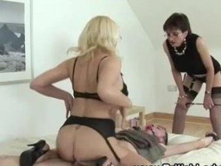 Mature bondage femdom fuck