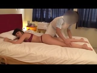 Non-Professional Blond Wife Massage (PTS-162)