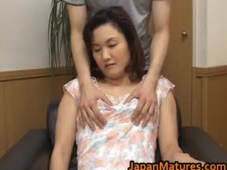 Hot mature Asian woman is amazing for part3