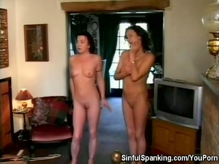 Spanked Milf Babes