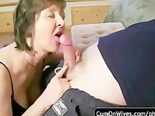 amateur blowjob and cumshot compilation