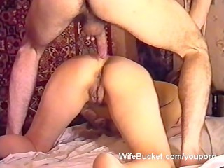 Homemade sex tape of a Russian MILF