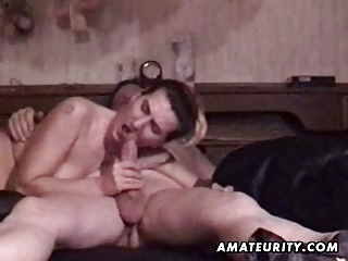 Mature amateur couple homemade hardcore action