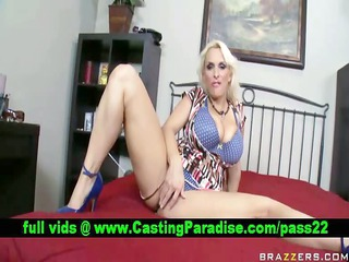Holly Halston amateur horny busty blonde