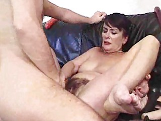 Mature and Hairy Creampie Bitches