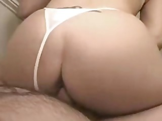 Amateur blonde wife lets hubby video her giving