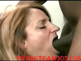 Amateur Milf deepthroath big black cock