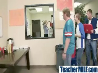 In Class Teachers and Students Get Hard Sex vid-12
