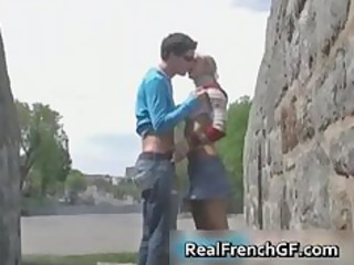 Slutty french girlfriend road trip sex part4