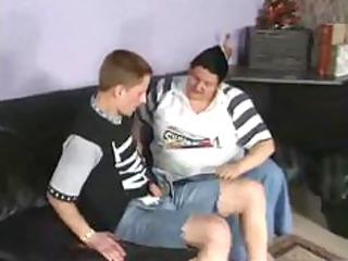 Fat granny german