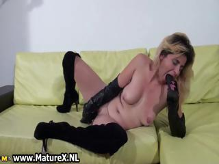 Horny amateur mom loves fucking part5