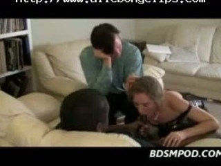 Wife Cuckolds A Big Ebony Cock black ebony