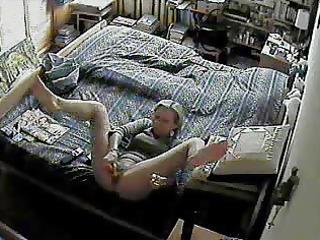 Spy Cam Under Wife