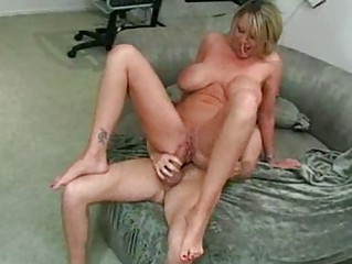 Big Titty MILF Seduces Her Sons College Buddy