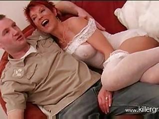 Hot mature brit redhead lynne warner banging