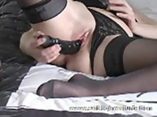 Ass and pussy Solo of Merel 52 years Granny