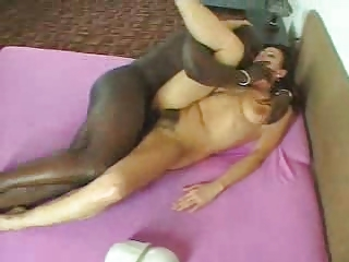 Hairy MILF banged  hard with BBC by TROC