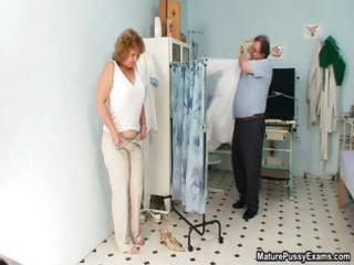 Dirty old grandma gets her pussy part4