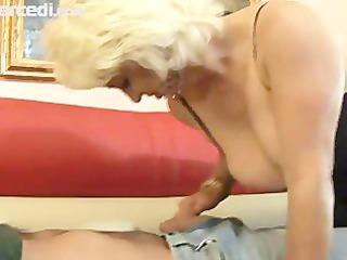 Mature Dana Hayes Swallows Cum