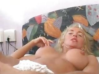 Mature German blonde wants to make a porn  Sascha