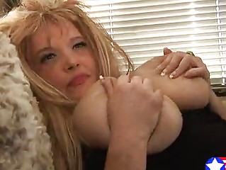 Reddish Blonde Busty Young Mom Fucks