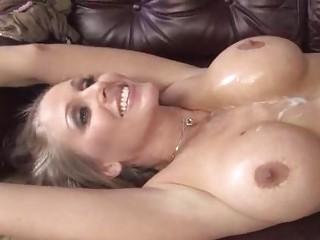 Busty blonde MILF Julia Ann on a hung black