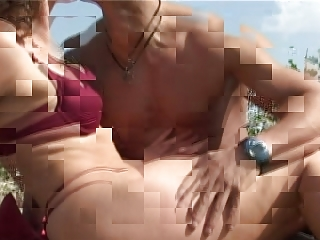 Mature with small tits big nipples gets fuck on