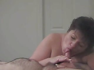 mature bbw cumswallower