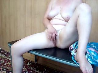 Mature hot milf selfshot masturbation