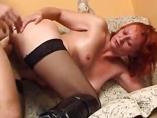 fucking a mature redhead