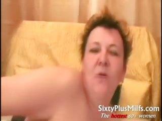 Chubby mature amateur Ann