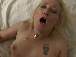 Nasty granny in hard POV sex action