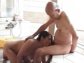 Old man and milf porn videos