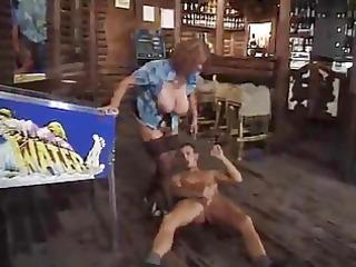 Hot Mature Smoking and Banging in Bar