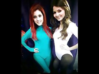 Victoria Justice Ariana Grande cum tribute