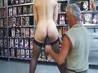Mature french lady is put through the ringer in