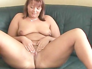 Fatty woman likes it in the ass
