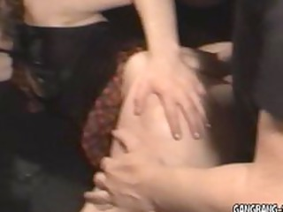 Wife gets laid by30 strangers at swingers club