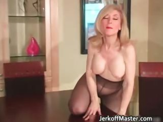 Slutty blond mum with big hooters part3