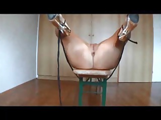 Amateur wife ass fucked on homemade sextape