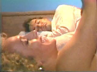 Wife gets fucked as husband tries to sleep