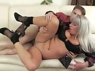 boy and milf nice fuck