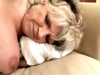 Granny Alena is very slutty!