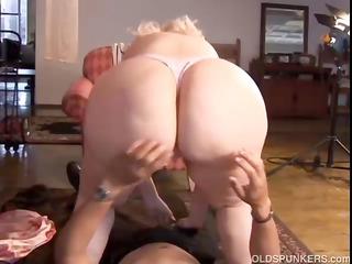 Big beautiful mature blonde loves to fuck